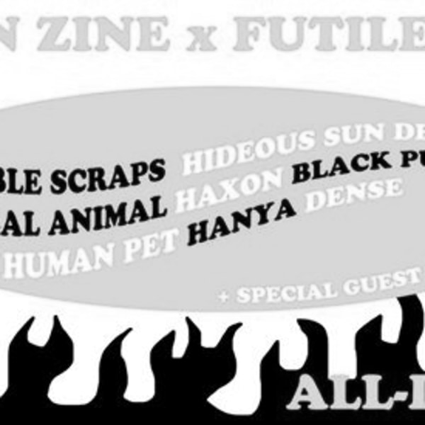 SAXON ZINE x Futile All-Dayer at The Victoria promotional image