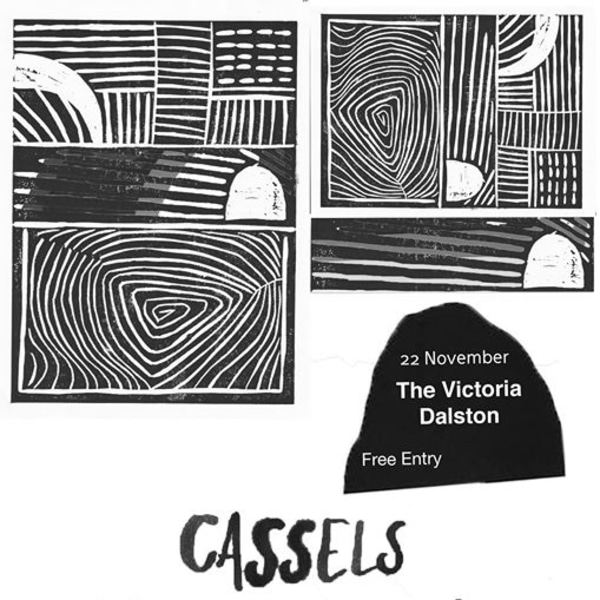 Cassels, Modern Rituals & Yarraman (FREE ENTRY) at The Victoria promotional image