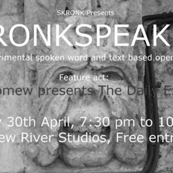 Skronkspeak #3 at New River Studios promotional image