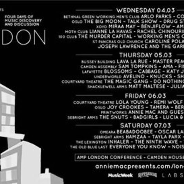 AMP London: Matt Maltese & Julia Bardo at Shacklewell Arms promotional image