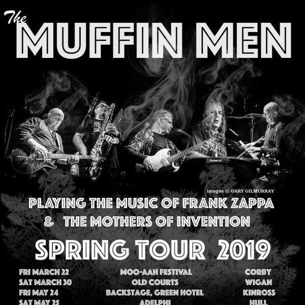 The Muffin Men: 29th year of operation playing Zappa/Mothers at The Fiddler's Elbow promotional image