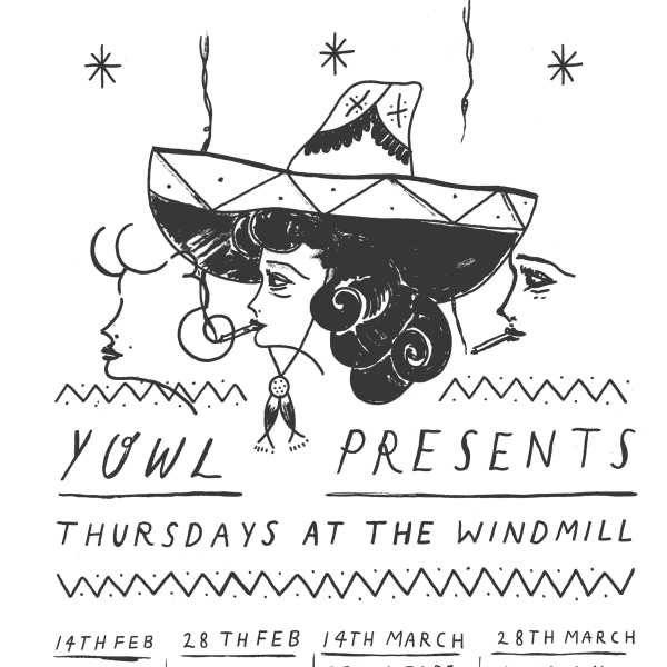 Mummy, Japanese Television, Loose Tongues, Career  at Windmill Brixton promotional image