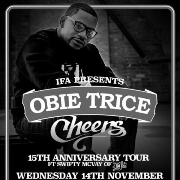 Obie Trice at New Cross Inn promotional image