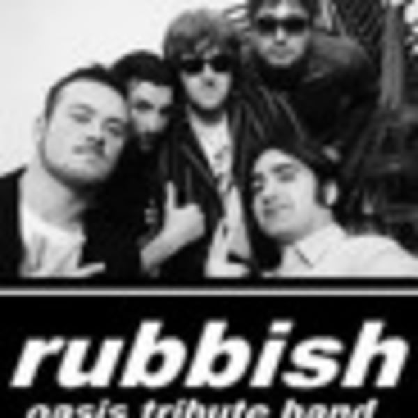 Rubbish Oasistributeband + Sabatta at Dublin Castle promotional image
