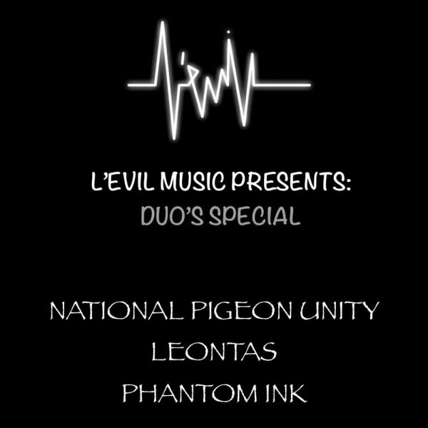 L'Evil Music Presents: Duo's Special at The Fiddler's Elbow promotional image