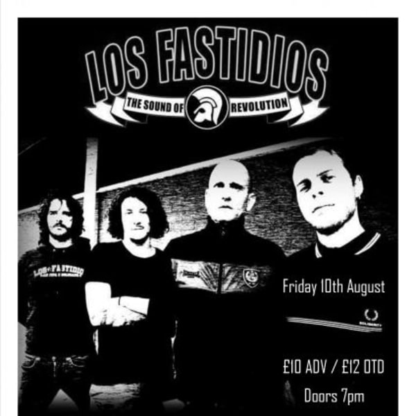 Los Fastidios at New Cross Inn promotional image
