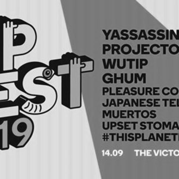 TipFest 2019 // Yassassin, Projector + more at The Victoria promotional image