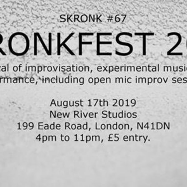 Skronkfest 2019 at New River Studios promotional image