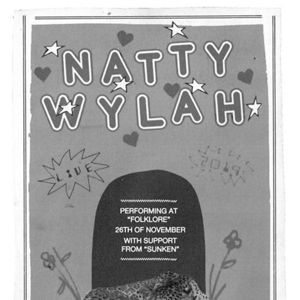 Natty Wylah + Sunken Live at Folklore promotional image