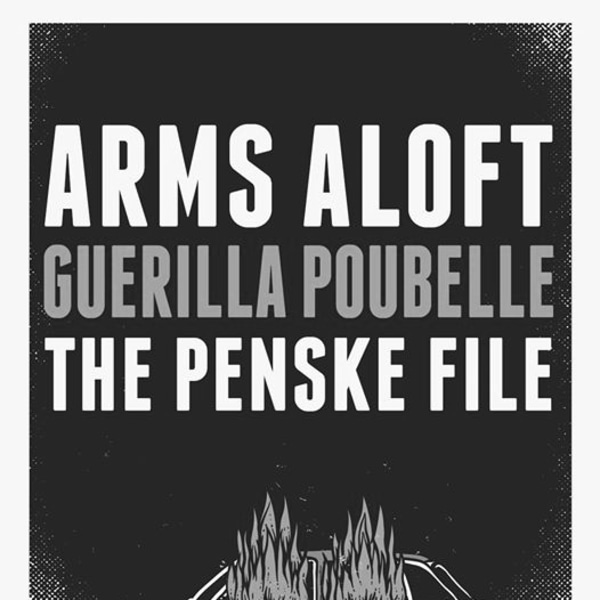 Arms Aloft, Guerilla Poubelle & The Penske File in London ! at New River Studios promotional image