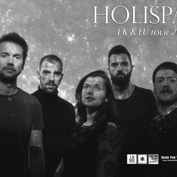 Holispark in London + guests One Last Daybreak & Temporal Comet at The Fiddler's Elbow promotional image