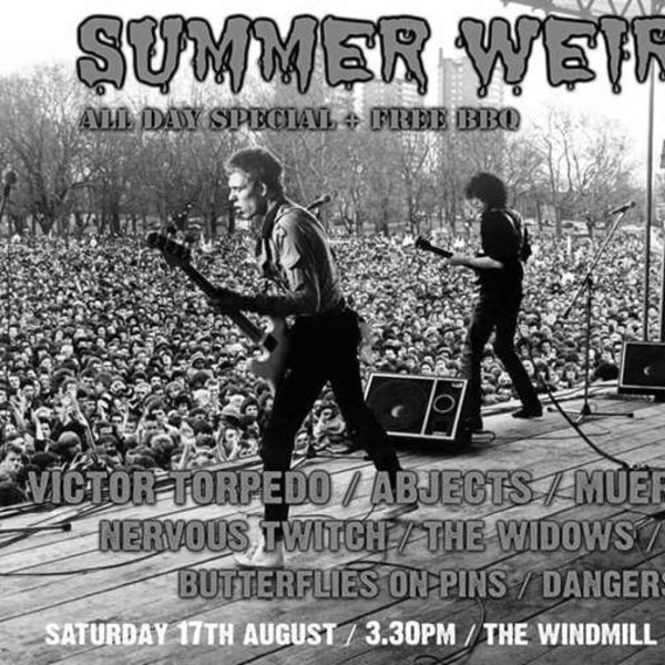 Summer Weird Sin BBQ 2019  at Windmill Brixton promotional image