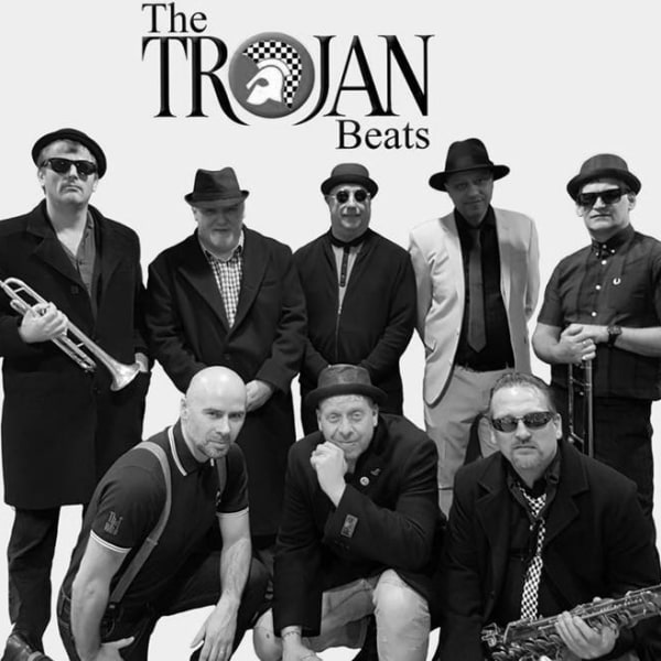 The Trojan Beats + Caroline Francess and the Lights at The Fiddler's Elbow promotional image