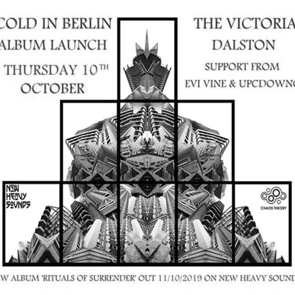 Cold in Berlin album launch / Evi Vine / Upcdownc at The Victoria promotional image