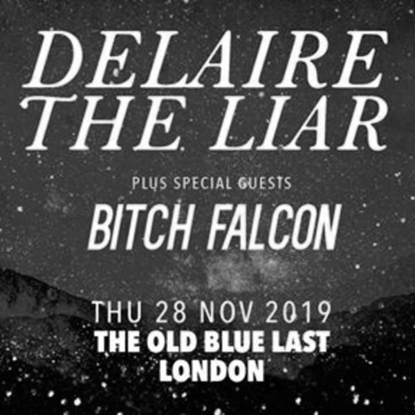 Bitch Falcon at The Old Blue Last at The Old Blue Last promotional image