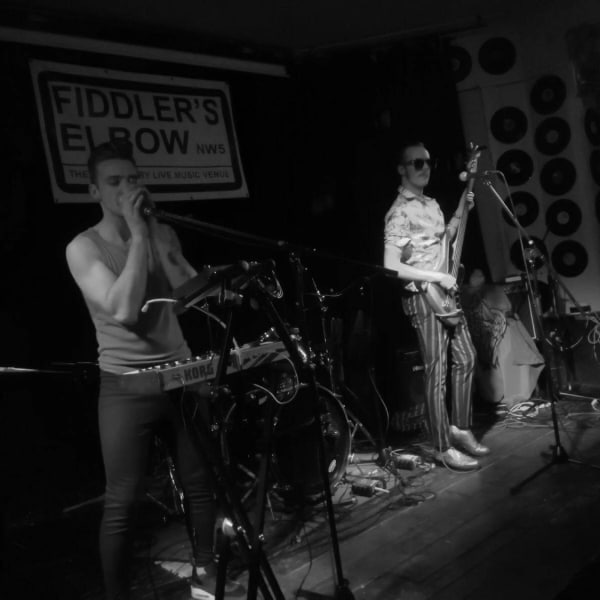 INDIE ROCK - PRITT + Interstellar Love Machine + River Purple + Mike Nisbet at The Fiddler's Elbow promotional image