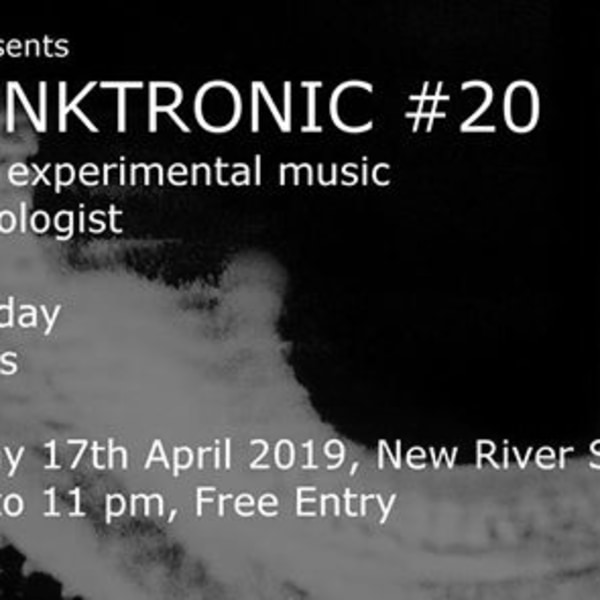 Skronktronic #20 at New River Studios promotional image