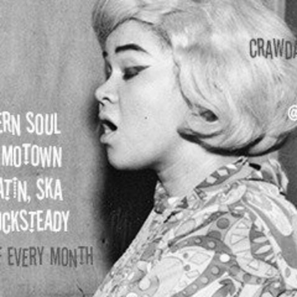 Crawdaddy Club  - Northern Soul - Soul - Stax - RnB - mod- Ska at The Fiddler's Elbow promotional image