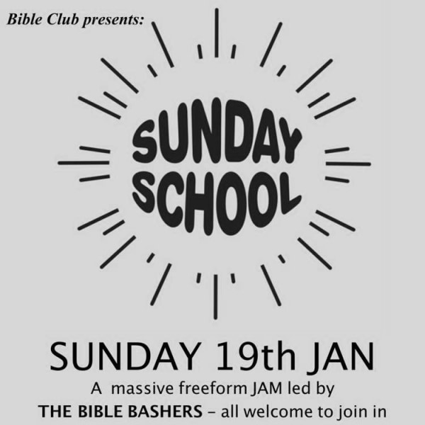 """Sunday School"" - Misty Miller, Bible Bashers, Mister Softee, Bus Hog  at Windmill Brixton promotional image"