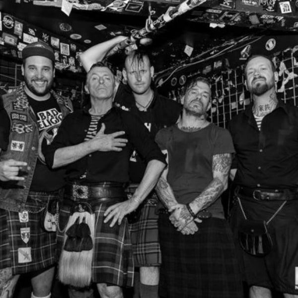 The Real McKenzies at New Cross Inn promotional image