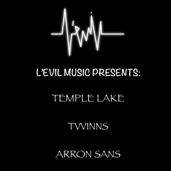 L'Evil Music Presents: Temple Lake // Tvvinns // More TBA at The Fiddler's Elbow promotional image