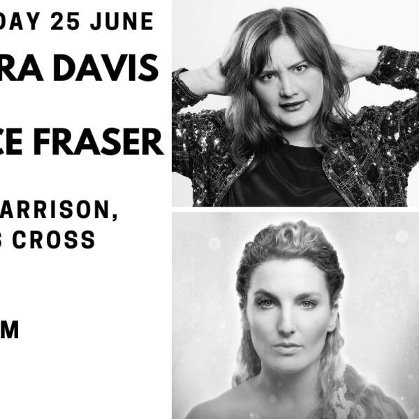 Edinburgh Previews: Laura Davis & Alice Fraser at The Harrison promotional image