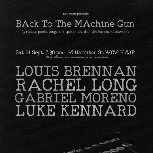 Louis Brennan / Luke Kennard / Rachel Long / Gabriel Moreno at The Harrison promotional image