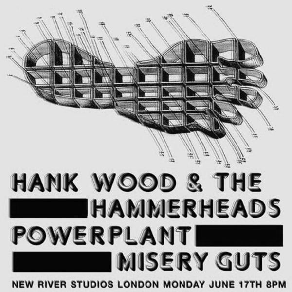 Hank Wood and The Hammerheads - Second London show 17/06 at New River Studios promotional image