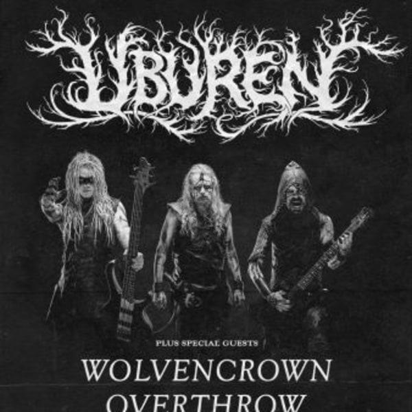 Uburen + Wolvencrown at New Cross Inn promotional image