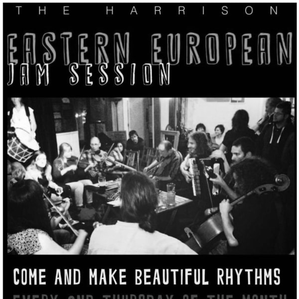 EASTERN EUROPEAN JAM SESSION at The Harrison promotional image