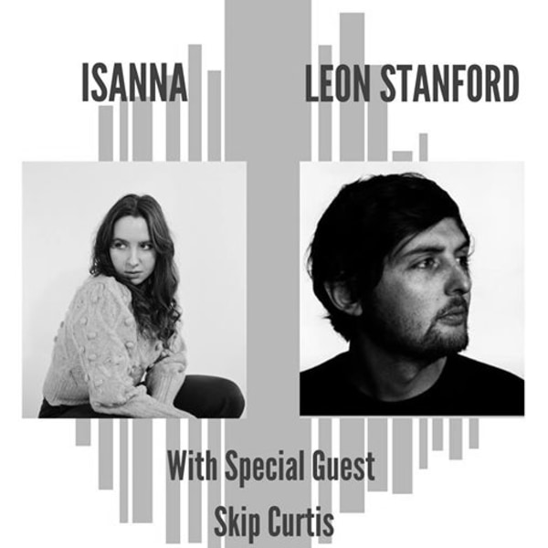 Isanna/ Leon Stanford/ Skip Curtis at The Old Blue Last promotional image