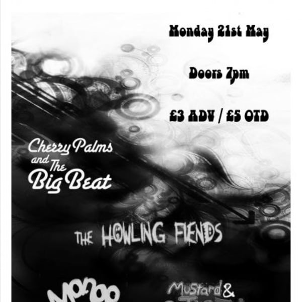 Cherry Palms & the Big Beat / The Howling Fiends / Mango / Mustard & The Silver Fish at New Cross Inn promotional image