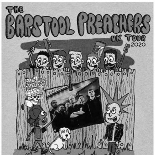 The Bar Stool Preachers at New Cross Inn promotional image