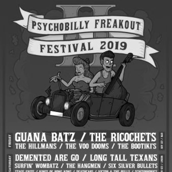 Psychobilly Freakout Festival 2019 at New Cross Inn promotional image