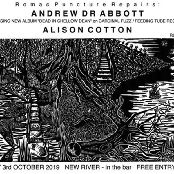 Andrew DR Abbott / Alison Cotton - Free gig in New River bar at New River Studios promotional image