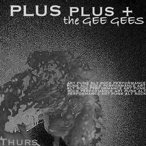 PLUS + the GEE GEES and more art punk alt rock performances at The Stag's Head promotional image