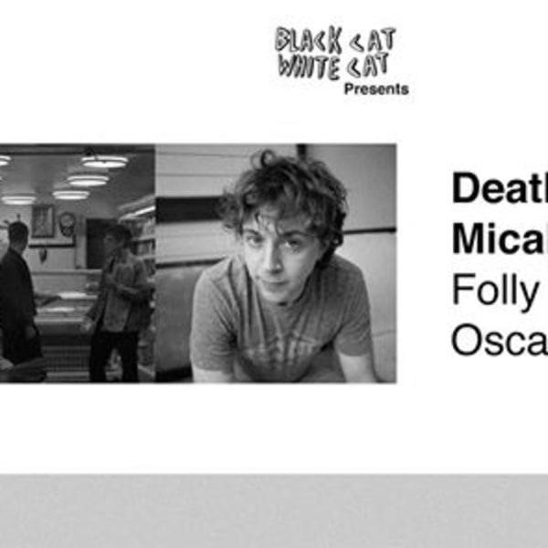 BCWC pres: deathcrash, Micah Erenberg, Folly Group, Oscar Browe at Shacklewell Arms promotional image