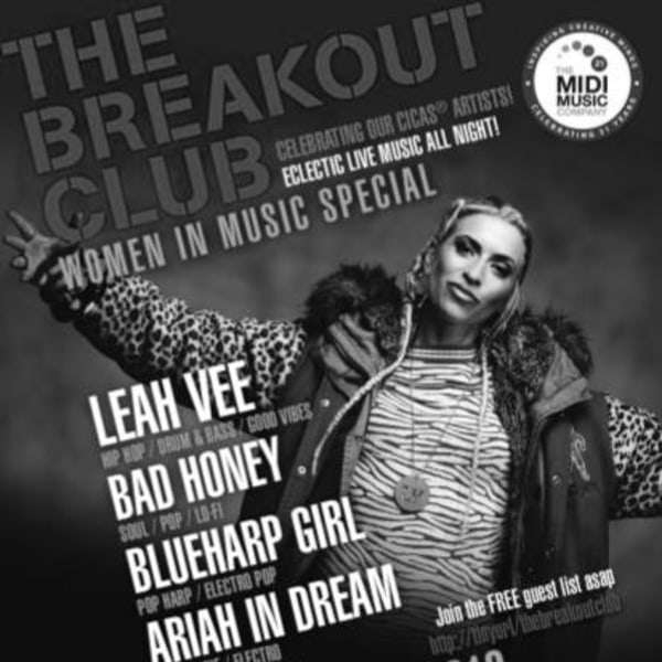 The Breakout Club Women in Music Special at New Cross Inn promotional image