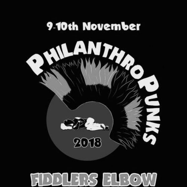PhilanthroPunks 2018  - Glass Door Charity ALL DAYER at The Fiddler's Elbow promotional image