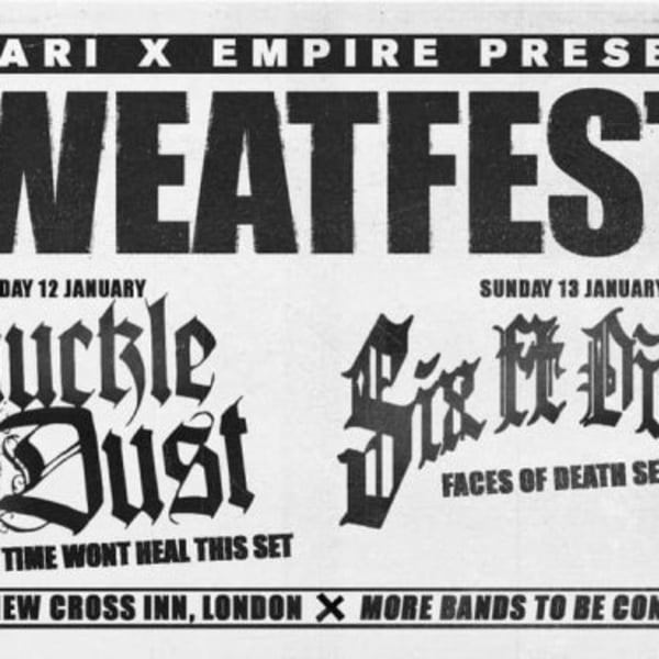 Sweatfest warm up - Dropset / Climate Of Fear / Inhuman Nature at New Cross Inn promotional image