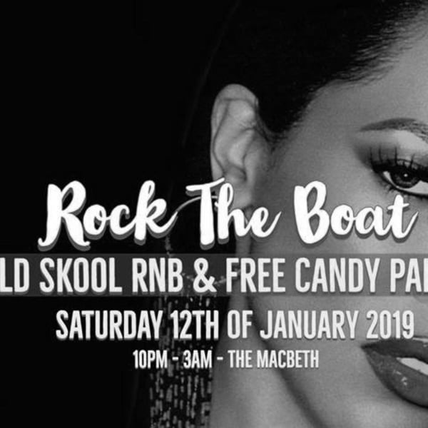 Rock The Boat (East) - Old Skool RnB Party at The Macbeth promotional image