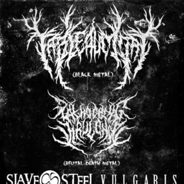 Tableau Mort / Pathogenic Virulence / Slave Steel / Vulgaris at New Cross Inn promotional image