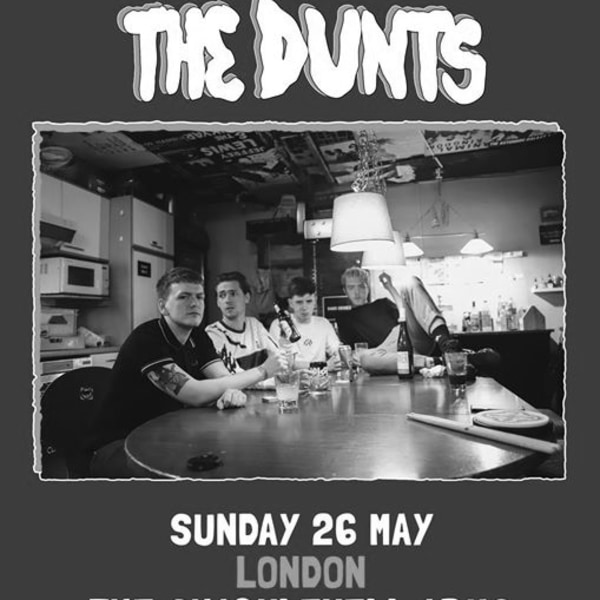 The Dunts - London at Shacklewell Arms promotional image