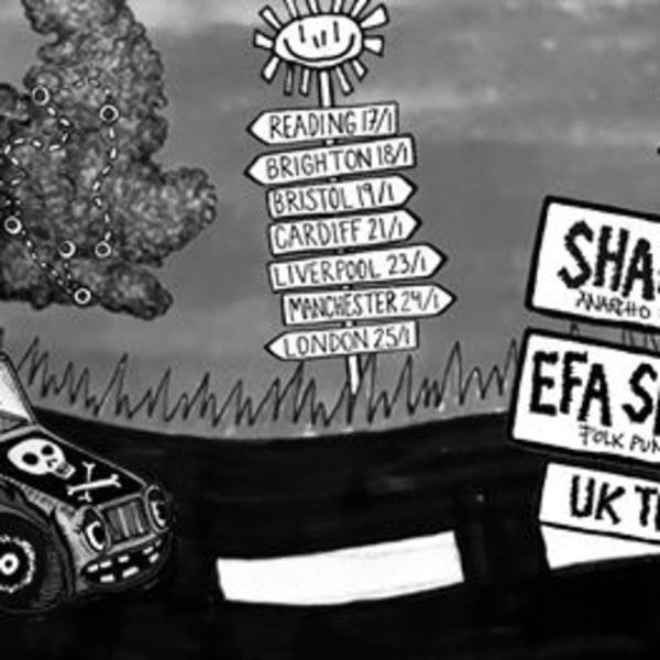 Folk-punk 4 Radio Ava: Sharp Knives, Efa Supertramp + more! at New River Studios promotional image