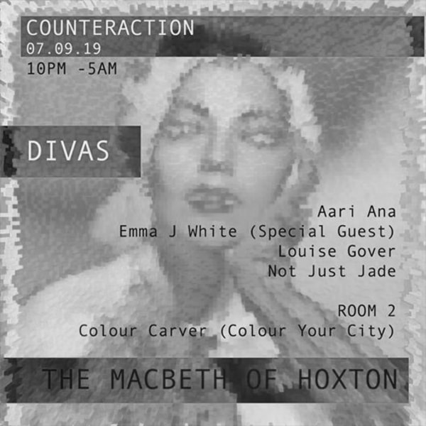 Divas by Counteraction at The Macbeth promotional image