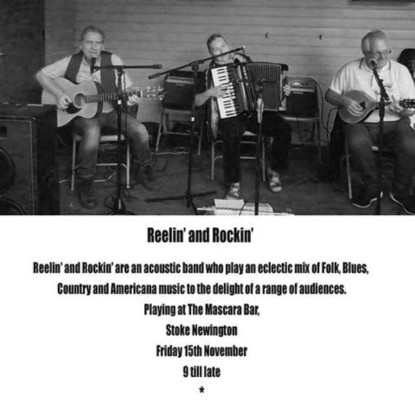 Reelin' and Rockin' at Mascara Bar promotional image