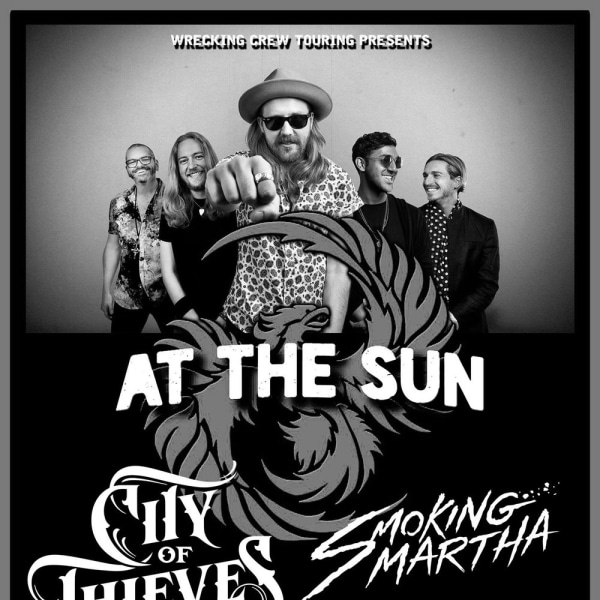 The Wrecking Crew - AT THE SUN /City of thieves/Smoking Martha (AUS) at The Fiddler's Elbow promotional image