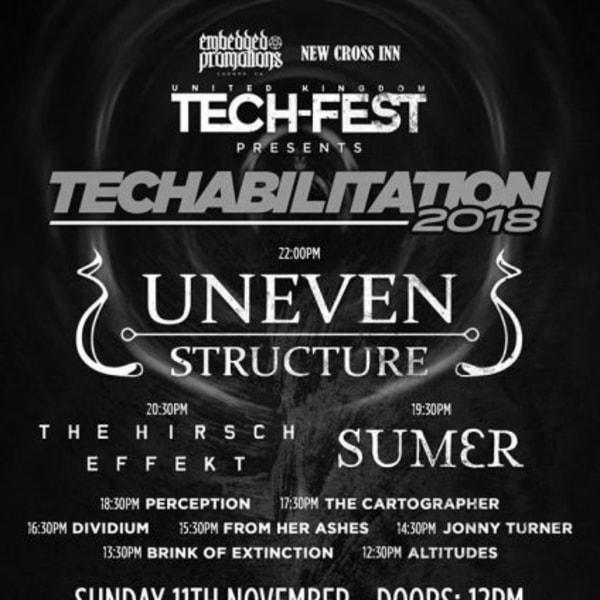 Techabilitation 2018 at New Cross Inn promotional image