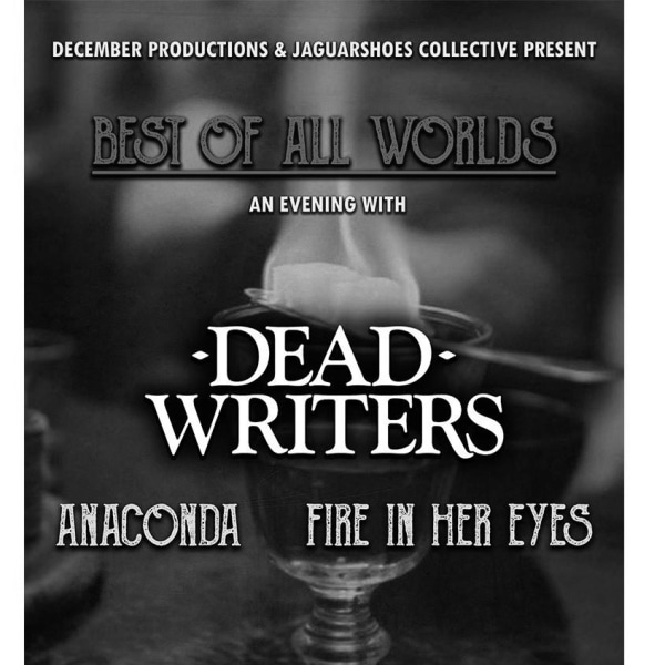 Best Of All Worlds: an evening with Dead Writers + guests at The Victoria promotional image
