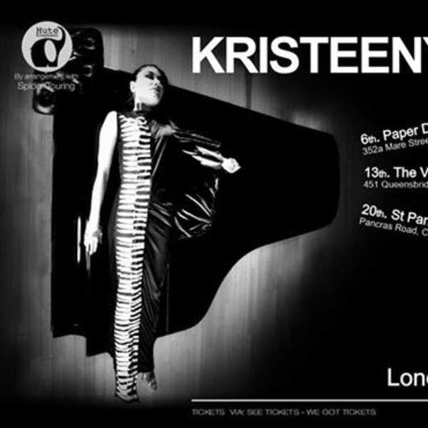 Kristeen Young - The Victoria, Dalston at The Victoria promotional image